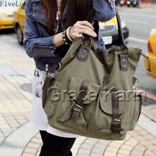 Women's Lady Large Canvas Messenger Handbag Shoulder Bag Satchel Hobo Tote bags