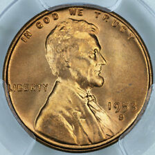 1953-S PCGS MS66RD Lincoln Cent