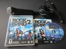 Playstation 3 PS3: Rock Band 2 with Rockband USB Mic Microphone tested