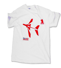 """OFFICIAL RAF RED ARROWS RED ONE T SHIRT - ADULT SMALL (36"""") WHITE"""