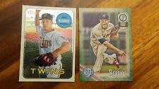 JOSE BERRIOS 2018 Topps Heritage #THC-290 CHROME 889/999 - TWINS Lot Gypsy Green