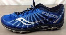 Saucony Kinvara TR2 Trail Running Shoes 7 Mens Sneakers Lock Laces Blue