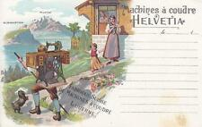 C3343) SVIZZERA, LUCERNA MACHINES A COUDRE HELVETIA, MACCHINA DA CUCIRE.