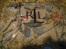 New Ralph Lauren Cal King Bedskirt - Lake House Floral Tan