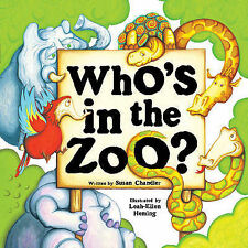 Who's in the Zoo?, New, Susan Chandler Book