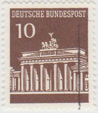 (G596) 1966 GERMAN 10pf brown Berlin ow1412