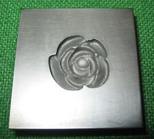 Rose Push Mold Pendent Lampworking Glass Bead Ingots 3D
