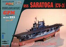 "GPM 223 - Flugzeugträger USS ""Saratoga"" CV 3 - 1:200"
