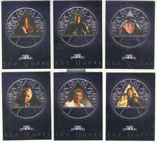 "Tomb Raider - ""The Quest"" Set of 6 Chase Cards #Q1-6"