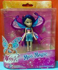 Winx Club Mini Magic 11cm Tall Musa Bloom Flora Stella Rainbow