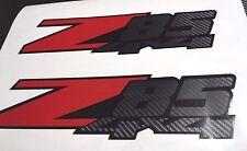 Z85 stickers decal carbon fiber (set)  silverado truck chevy chevrolet