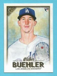 WALKER BUEHLER 2018 Topps Gallery Rookie #141 Dodgers