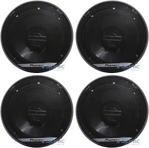 "4) Pioneer TS-G1620F 600W Max 6.5"" G-Series 2-Way Coaxial Car Audio Speakers"