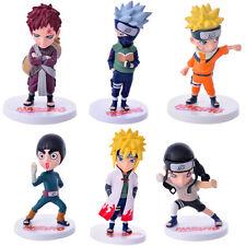 Naruto Gaara  Rock Lee set of 6pcs PVC figure figures doll toy dolls anime