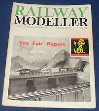 RAILWAY MODELLER VOLUME 17 NUMBER 185 MARCH 1966 - MILLPORT & SELFIELD