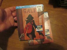 SALT BLU-RAY DELUXE UNREATED  EDITION ** STEELBOOK ** NEW FACTORY SEALED RARE