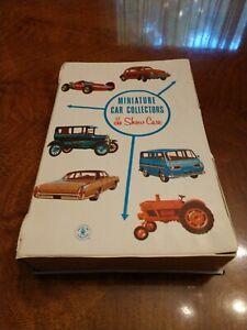 Vintage 1966 Mattel, Inc. Toymakers Miniature Car Collectors 12 Car Show Case