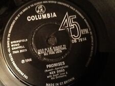 KEN DODD . PROMISES / THANK YOU FOR BEING YOU . NR Mint vinyl 1966