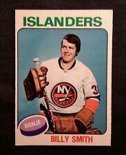 1975 75-76 OPC Lot of 2 Bobby Clarke + Billy Smith HOFer Both Vg-Ex or Better