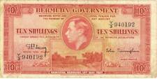 Bermuda 10 Shillings Currency Banknote 1937