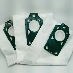 Riccar Supralite Hepa Media Upright Vacuum Cleaner Bags 3 Pack RLH-6