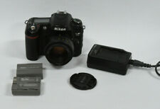 Nikon D80 Digital SLR Camera with 50mm 1:8 D Lens