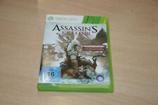 Assassin's Creed III (Microsoft Xbox 360, 2012, DVD-Box) USK 16