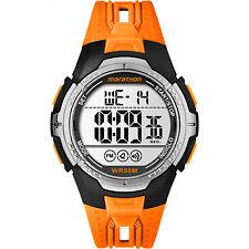 Timex TW5M06800, Men's Marathon Orange Resin Watch, Indiglo, Alarm, TW5M06800M6