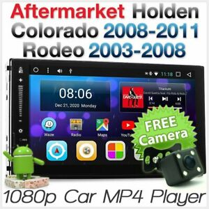 Holden Colorado Rodeo Android Car Player MP3 Stereo Radio Head Unit USB GPS MP4