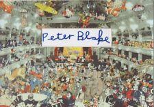 PETER BLAKE Signed 12x8 Photo Display POP ART DC Reunion at the Tower COA