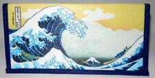 Japanese Rice Paper Wallet Checkbook Cover The Great Wave Off Kanagawa