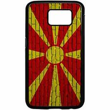 Samsung Galaxy Case with Flag of Macedonia Options