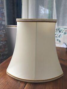 Vintage Cream Table Lampshade Handmade By Hannah - British Made