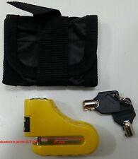 lucchetto blocca disco perno 5,5 mm con borsetta