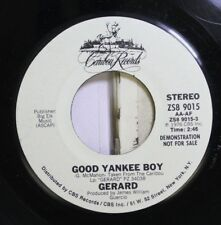 Rock Promo 45 Cowboy Records - Good Yankee Boy / Gerard On Big Elk Music
