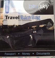 Travel Security Waist Pouch Passport Money Card Ticket Belt Bag Bum Bag