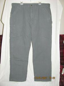 Carhartt B151 FAT Fatigue Carpenter Work Pants Dark Gray 42X34