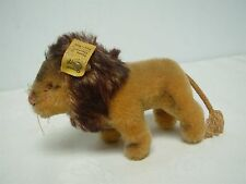 "VTG GERMAN STEIFF MINIATURE STANDING LEO THE LION 1310.00 ~ 3.5"" HIGH x 5"" WIDE"