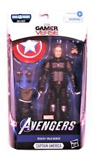 "Marvel Legends Series Gamerverse 6 "" Stealth Captain America Collectible Figure"