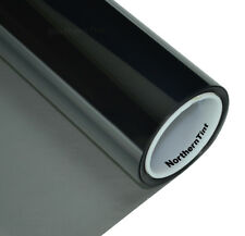 "36""x50' Window Tint Roll 35% vlt Moderate Dark 2ply Ch. Black NR Car Film Roll"