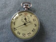 Swiss Made Gallet Mechanical Wind Up Vintage Stop Watch Stopwatch