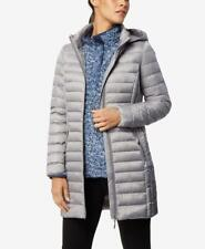 32 Degrees Hooded Packable Down Puffer Coat Smoke Grey Small #1 RRP$150.00