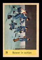 1959 Parkhurst #25 Johnny Bower IA VGEX X1686737