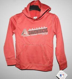 Arizona Diamondbacks Performance Hooded Sweatshirts Youth Sizes NEW