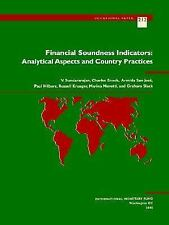 Financial Soundness Indicators: Analytical Aspects and Country Practices (IMF's