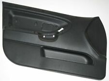 BMW E36 Front Left Door Card Trim Panel Black 8165655 51418165655