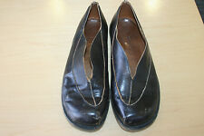 Cydwoq Brown Leather Slip-On Shoes Size 39.5