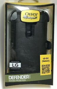 OtterBox Defender Case/Holster for LG G2 (for Verizon version only) - Black