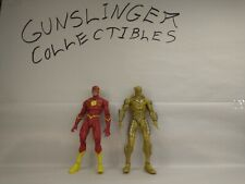 DC Multiverse Reverse Red Death Flash Earth -52 Gold Label McFarlane loose lot