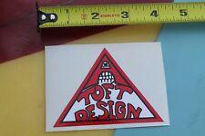 SIMS Skateboards Lonnie Toft Design Pyramid NOS 1970's Skateboarding STICKER